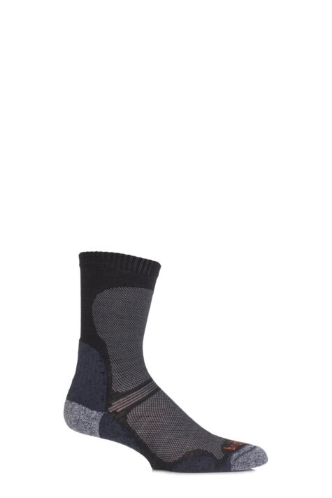 Mens 1 Pair Bridgedale Ultra Light Trail Enduro Wool Socks Product Image