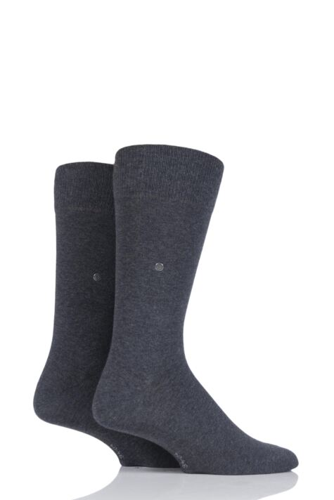 Mens 2 Pair Burlington Everyday Cotton Socks Product Image