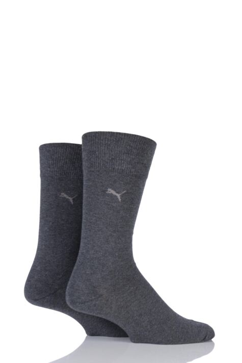 Mens 2 Pair Puma Everyday Classic Cotton Socks Product Image