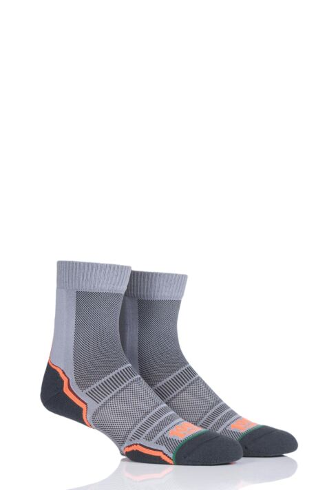 Mens and Ladies 2 Pair 1000 Mile Trail Sock Product Image
