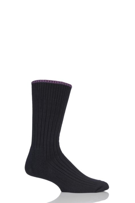 Mens and Ladies 1 Pair Glenmuir Cotton Cushioned Golf Socks Product Image