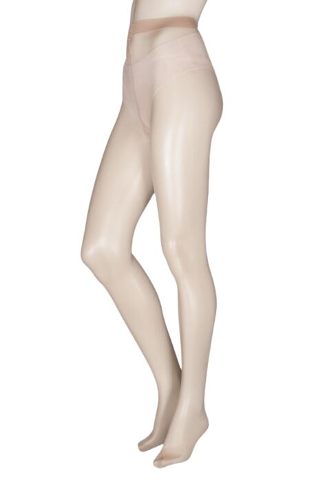 Ladies 1 Pair Falke Seidenglatt 15 Denier Transparent Shining Tights Product Image