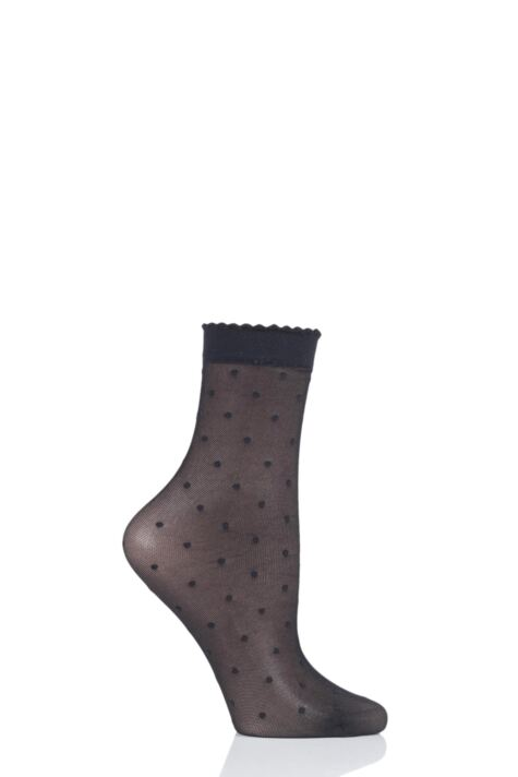 Ladies 1 Pair Falke Dots Socks Product Image