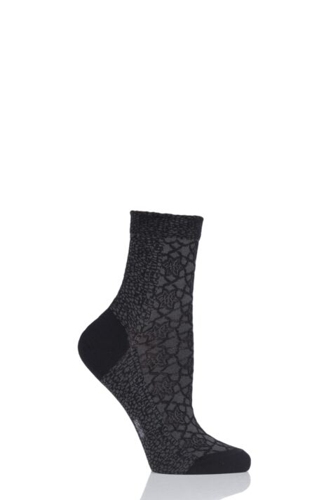 Ladies 1 Pair Falke Granite Cotton Socks Product Image