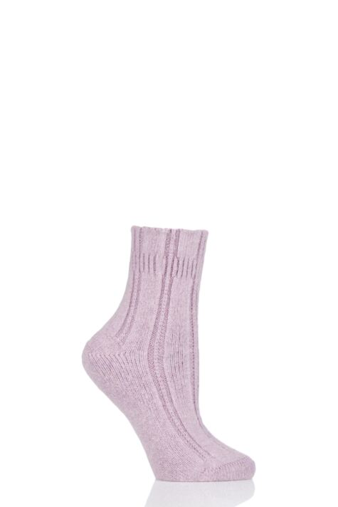 Ladies 1 Pair Falke Angora Bed Socks Product Image