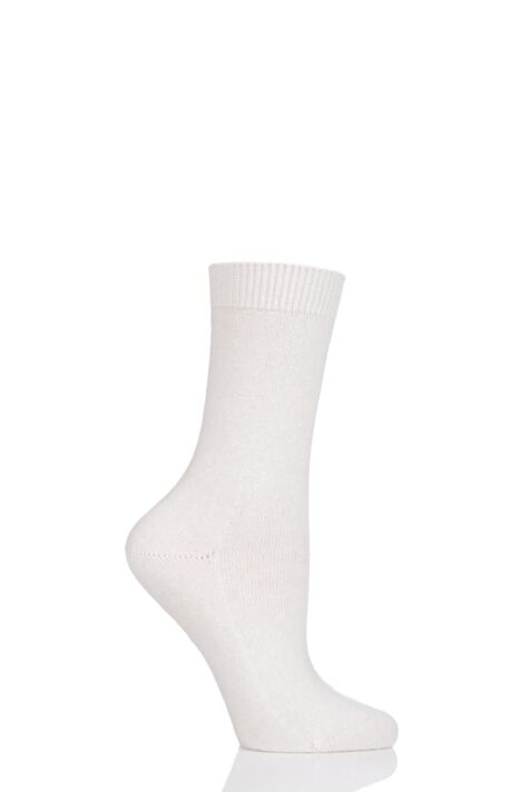 Ladies 1 Pair Falke Cosy Wool and Cashmere Socks Product Image