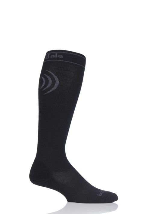 Mens 1 Pair Bridgedale Compression Travel Socks Product Image