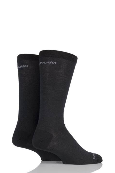 Mens 2 Pair Bridgedale Coolmax Liners For Extra Comfort And Dryness Next To Skin Product Image