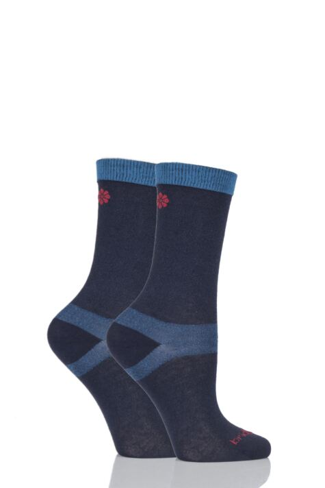 Ladies 2 Pair Bridgedale Coolmax Liners For Extra Comfort And Dryness Product Image