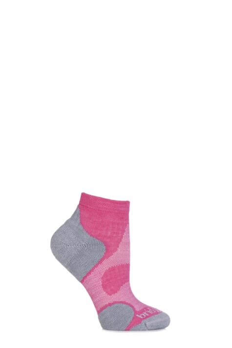 Ladies 1 Pair Bridgedale Multisport Cushioned Merino Wool Socks Product Image