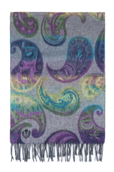 Fraas Cashmink Bright Paisley Scarf Product Image