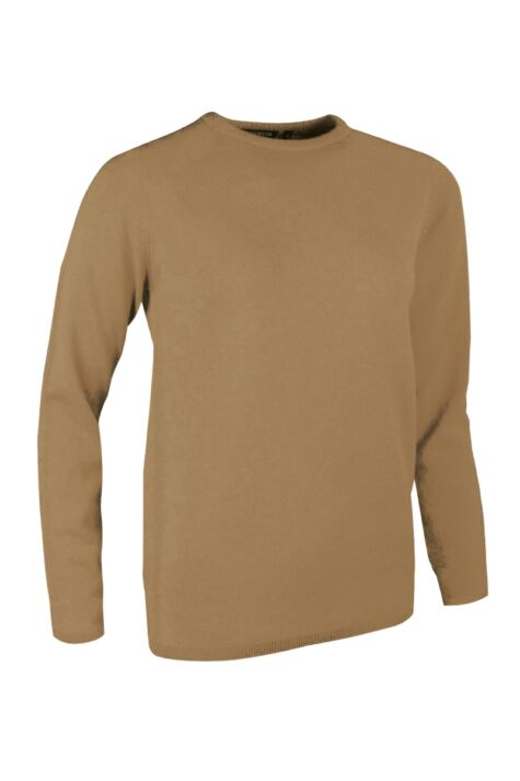 Ladies Great & British Knitwear Made In Scotland 100% Cashmere Round Neck Browns and Greens Product Image
