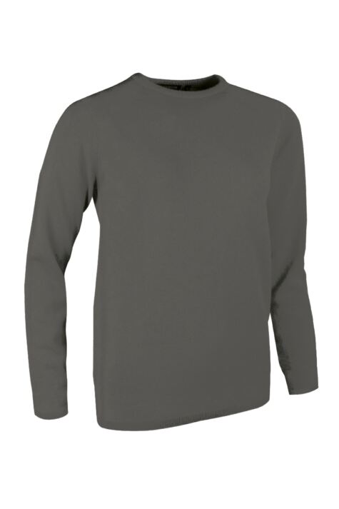 Ladies Great & British Knitwear Made In Scotland 100% Cashmere Round Neck Greys and Whites Product Image