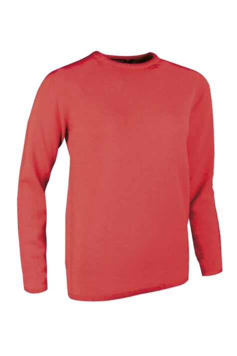 Ladies Great & British Knitwear Made In Scotland 100% Cashmere Round Neck Reds and Yellows Product Image