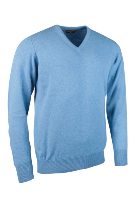 Mens Great & British Knitwear Made In Scotland 100% Cashmere V Neck Product Image