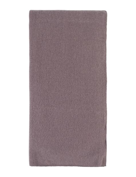 Ladies Great and British Knitwear 100% Cashmere Plain Fine Knit Scarf. Made In Scotland Product Image