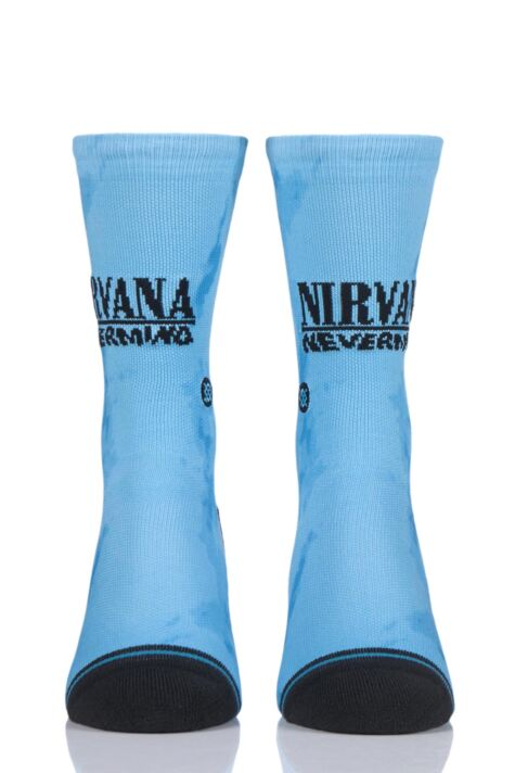 Mens and Ladies 1 Pair Stance Nirvana Nevermind Socks Product Image