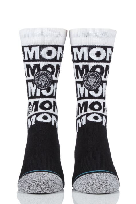 Mens and Ladies 1 Pair Stance The Ramones Combed Cotton Socks Product Image