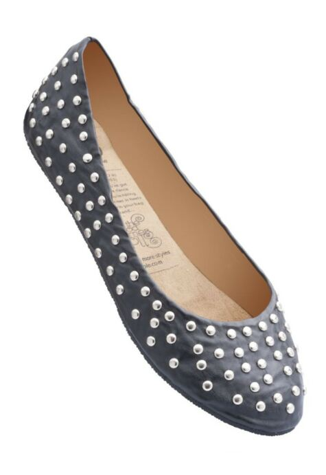 Ladies 1 Pair Rollasole Deluxe Range Rock and Rollasole Studded Shoes Product Image