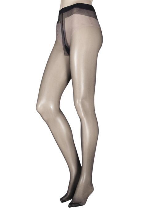 Ladies 1 Pair Pendeza Black Secrets Opaque Tights For Darker Skin Tones Product Image