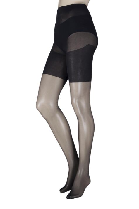 Ladies 1 Pair Pretty Legs Xceptionelle Plus Size Lycra Tights Product Image
