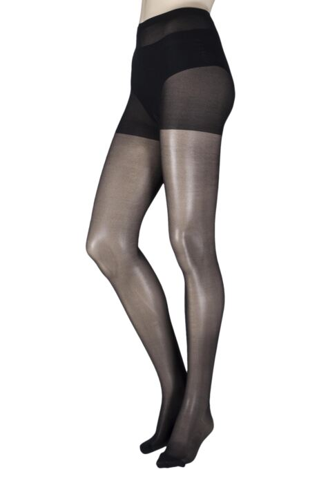 Ladies 1 Pair Pretty Legs 15 Denier Revitaliser Soft Shine Compression Tights Product Image
