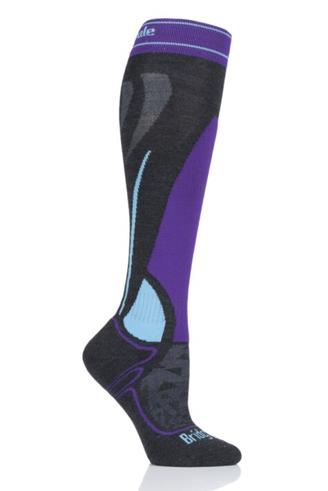 Ladies1 Pair Bridgedale Merino Endurance Midweight Ski Socks Product Image