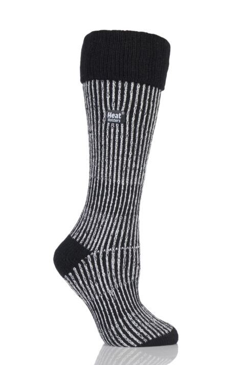 Ladies 1 Pair SockShop Heat Holders 2.3 TOG Thermal Boot Socks Product Image