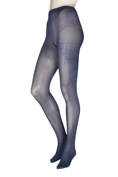 Ladies 2 Pair Charnos 40 Denier Tights With Comfort Top Product Image