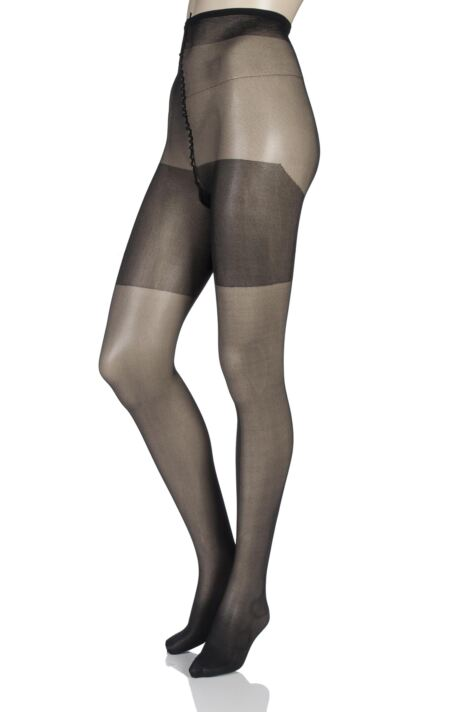 Ladies 1 Pair Charnos XeLence 30 Denier Semi Opaque Tights Product Image
