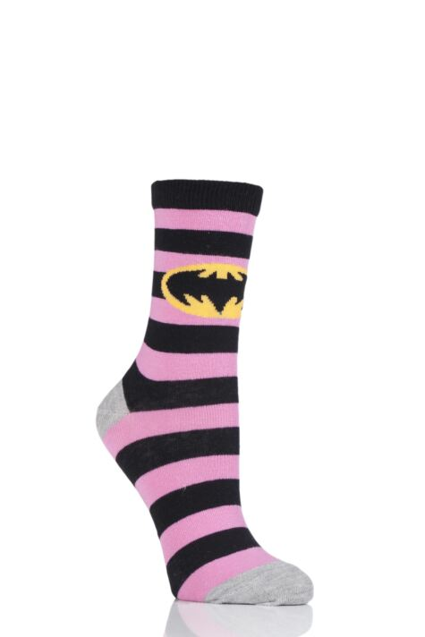 Batman / Batgirl - Pink Stripes Product Image