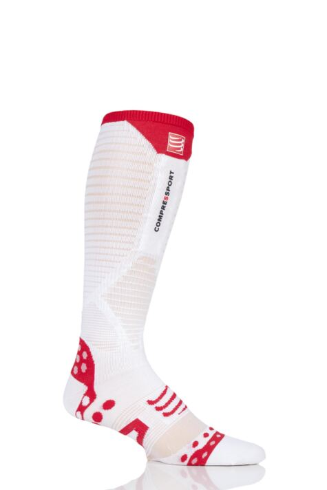 Compressport 1 Pair Full Length Ultralight Racing Compression Socks Product Image