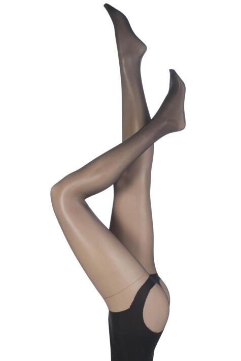 Ladies 1 Pair Pretty Polly My Rear Rocks Tum and Bum Shaper Tights Product Image