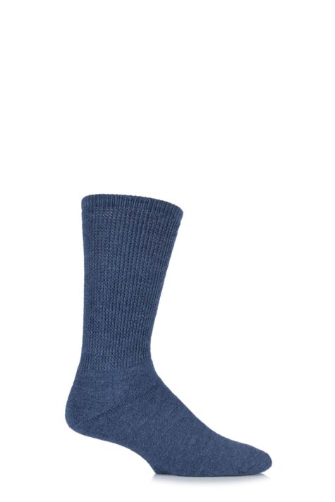 Mens 1 Pair HJ Hall Wool Diabetic Socks Product Image