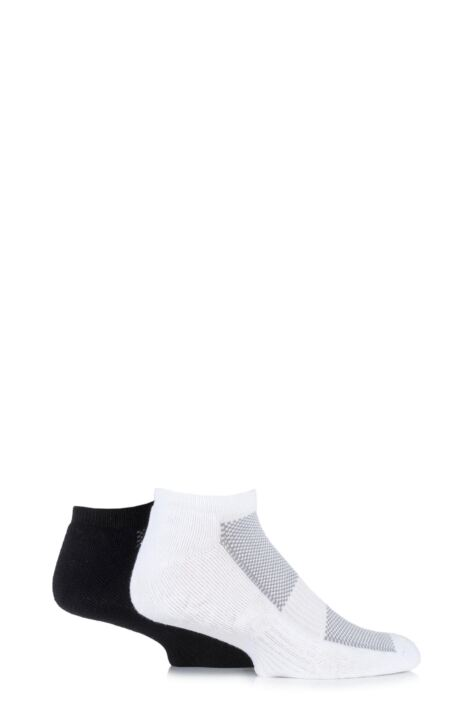 Mens 2 Pair HJ Hall Bamboo Cushioned Trainer Socks Product Image