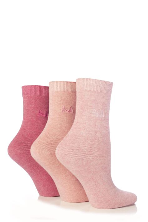 Ladies 3 Pair Pringle Tiffany Plain Trouser Socks Product Image