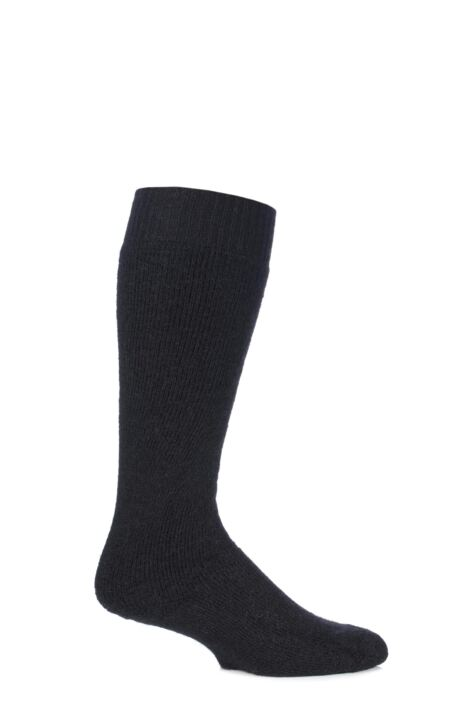 Mens and Ladies 1 Pair SOCKSHOP of London Mohair Knee High Socks With Cushioning Product Image