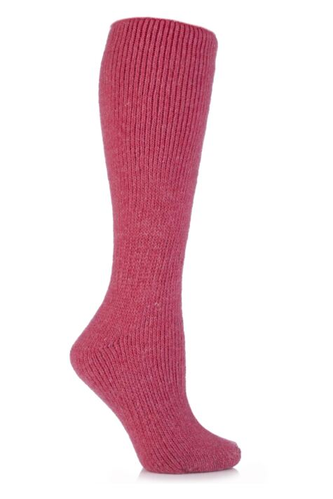 Ladies 1 Pair SOCKSHOP Heat Holders Wool Rich Long Thermal Socks Product Image