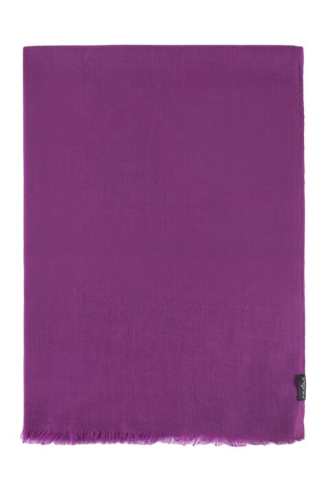 Ladies Fraas 100% Wool Plain 70 x 200cm Scarf Product Image