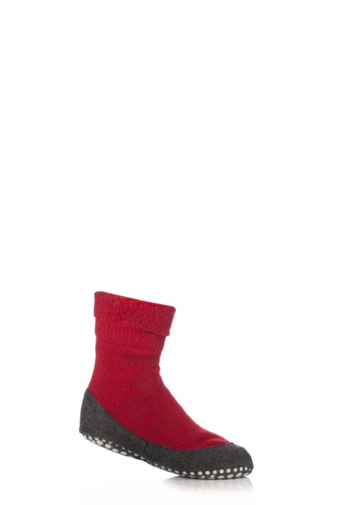 Boys and Girls 1 Pair Falke Cosyshoe Socks Product Image