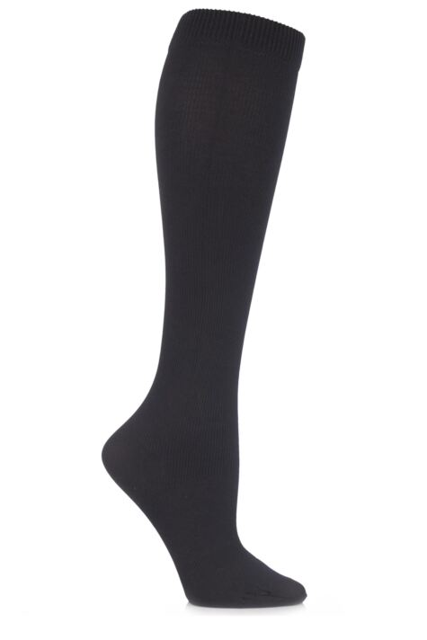 Ladies 1 Pair SockShop Iomi 80 Denier Flight and Travel Socks Product Image