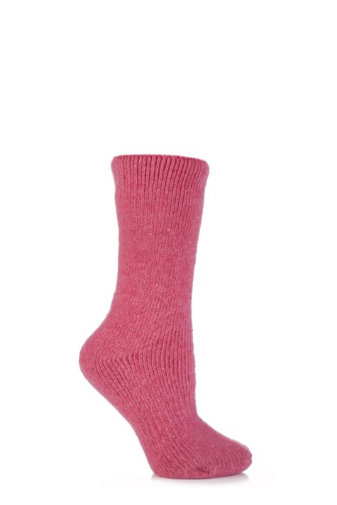 Ladies 1 Pair SockShop Heat Holders Wool Rich Thermal Socks Product Image