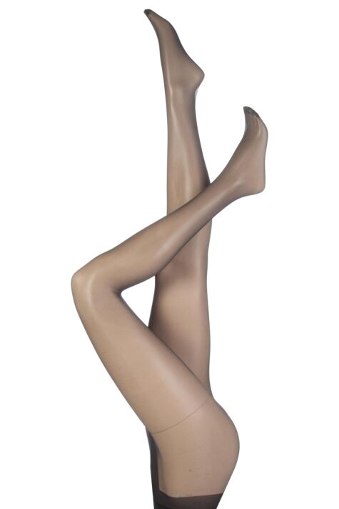 Ladies 2 Pair Pretty Polly 10 Denier Simply Sheers Tights Product Image