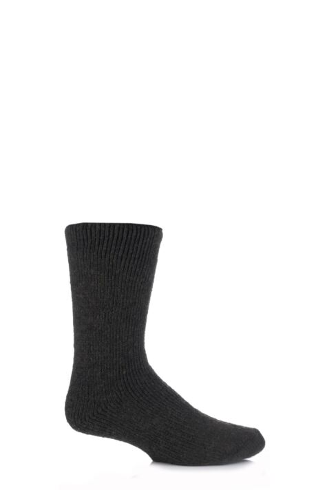 Mens 1 Pair SockShop Heat Holders Wool Rich Thermal Socks Product Image