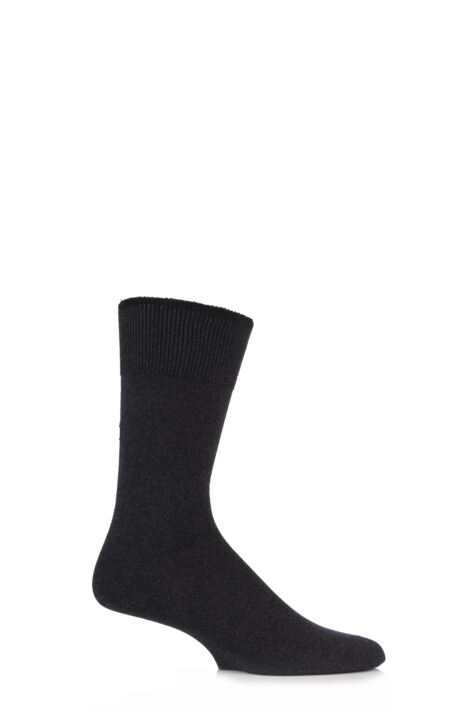 Mens 1 Pair Falke Graduate Cashmere Blend Socks Product Image