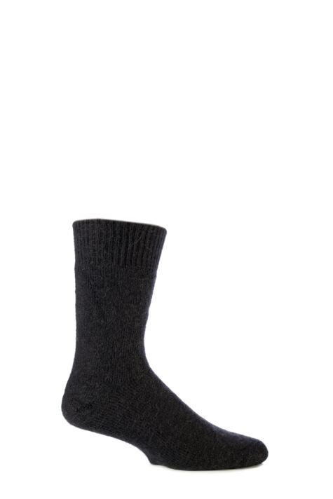 Mens and Ladies 1 Pair SOCKSHOP of London Mohair Boot Socks With Cushioning Product Image