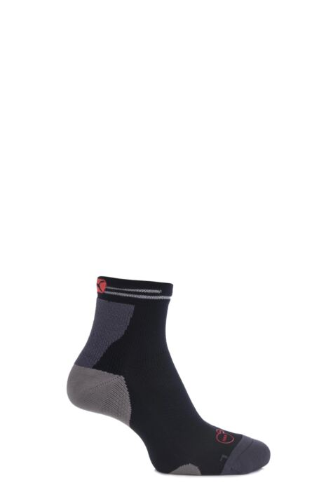 Mens and Ladies 1 Pair Puma PowerCELL Performance and Mid-Weight Quarter Running Socks Product Image