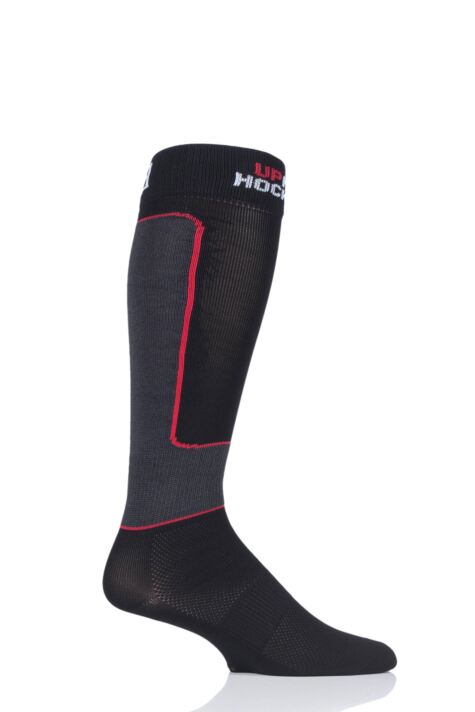 "Mens and Ladies 1 Pair UpHill Sport ""Pro"" Anti-cut Ice Hockey L1 Socks Product Image"