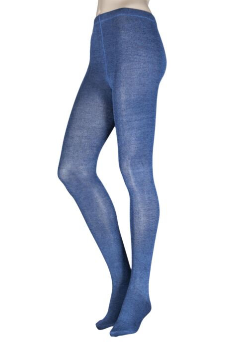 Ladies 1 Pair Elle Plain Bamboo Tights - Sale Product Image