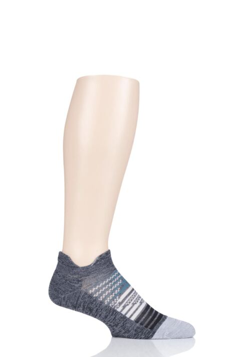 Mens and Ladies 1 Pair Feetures Elite Light Cushioned Running Socks Product Image